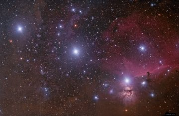 Orion and Horsehead