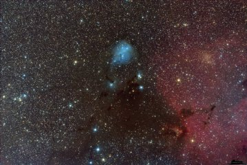 IC 447 Dreyers Nebula