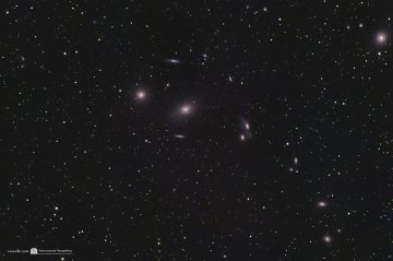 M86, M87, M84 & Co Markarian Chain